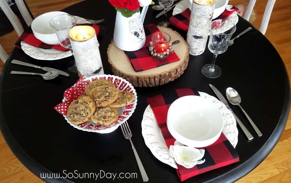 Valentines Tablescape So Sunny Day blog 1